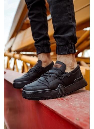 Chekich CH067 SST Erkek Ayakkabı SıYAH/SıYAH Siyah